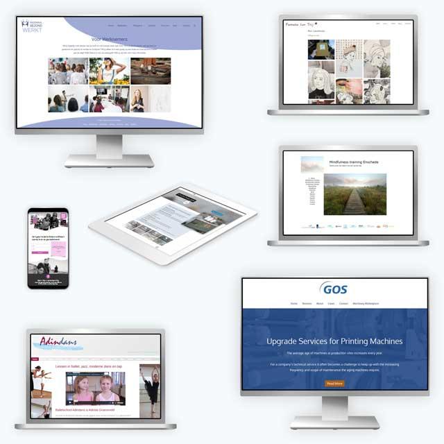 Tigplant mini portfolio websites